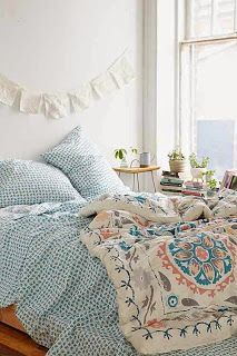 Boho bedroom for teen girl
