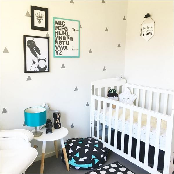 black, white and mint nursery // the boo and the boy: kids' rooms on instagram