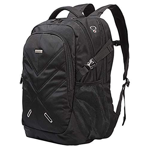 b19df5aa1720 New Ronyes Backpack for Laptops Up to 18.4 Inch Hiking Backpack Water  Resistant Travel Computer Backpack