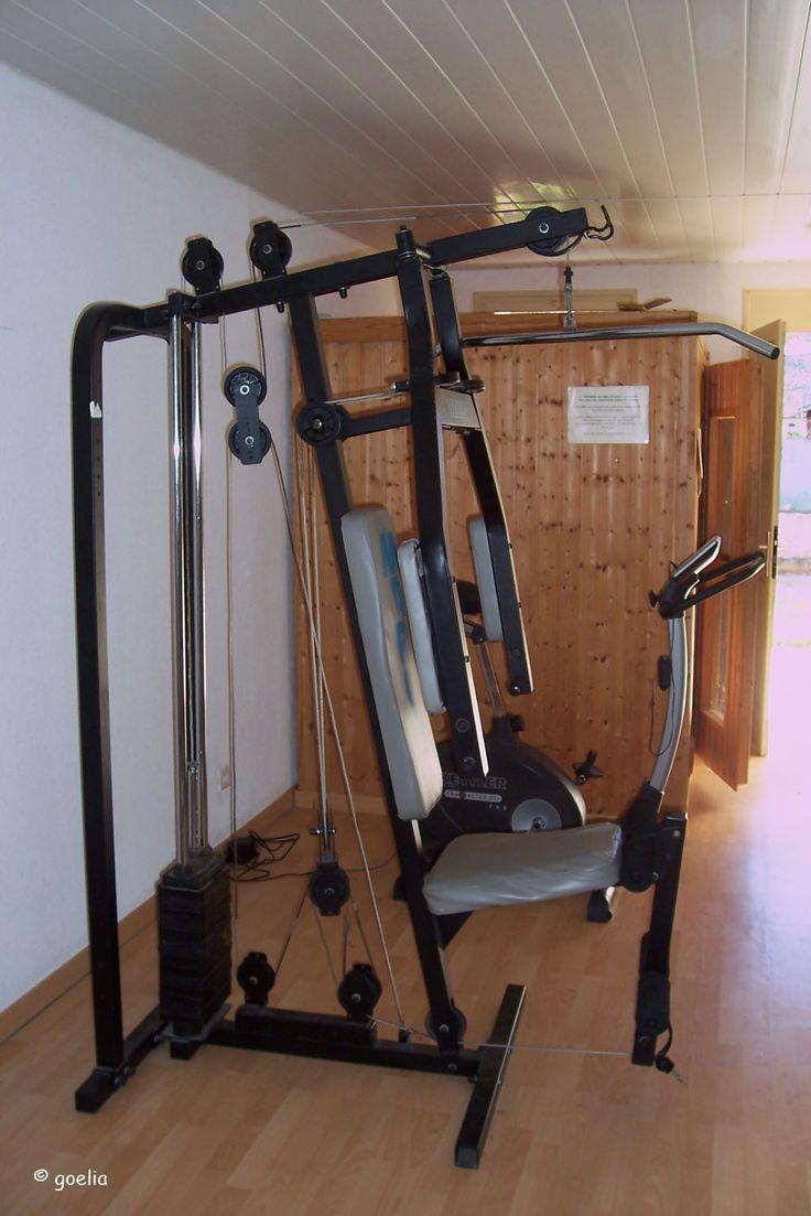 Espace fitness et sauna au sein de la résidence Goelia, le Mas Blanc à Pérols