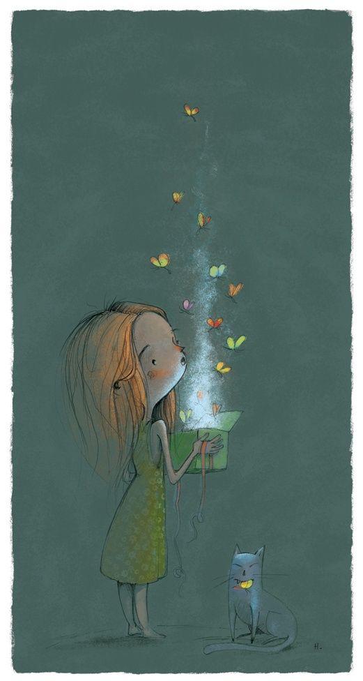 Aline ♥ #illustration !