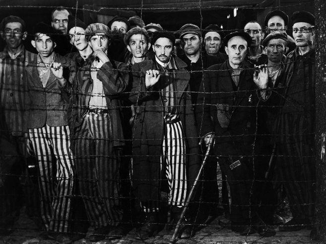 The Liberation of Buchenwald, 1945 .Margaret Bourke-White
