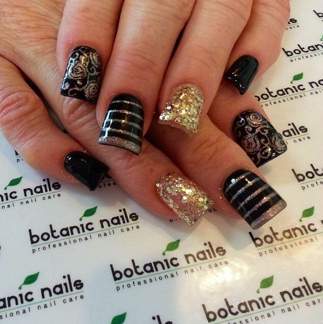 46 best New Years nails images on Pinterest | Nail art ...