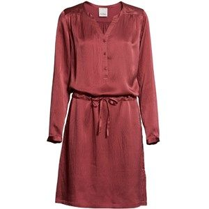 """Sustainable Silk Luxury Dress, long sleeves, phard. Beautiful and exclusive dress with long sleeves and a shiny surface.  Made from 100% silk in """"dead stock"""", which means that it's made from residues from other collections."""