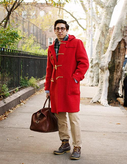 RED Gloverall duffle coat