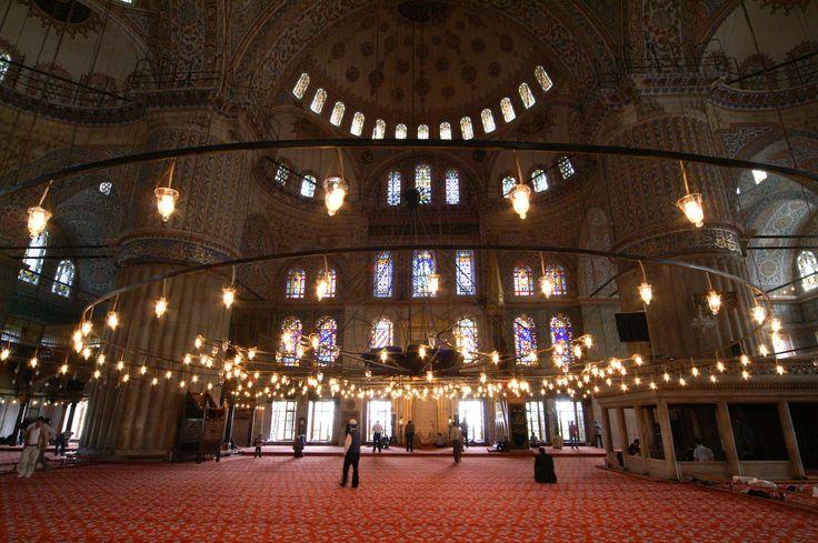 Mesquita Azul ou Mesquita do Sultão Ahmed - Istambul, Turquia