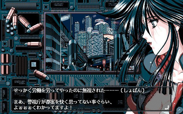I love the look of PC98 games aka the Anime PC game
