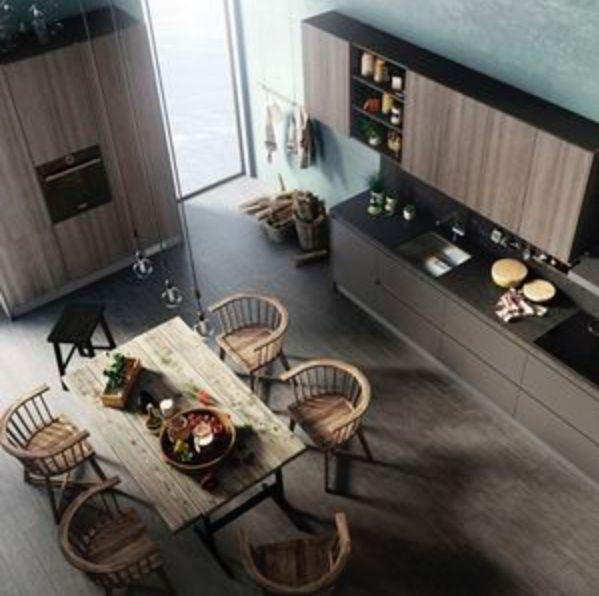134 best Küche images on Pinterest Contemporary unit kitchens - küchenschrank griffe günstig