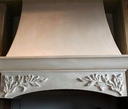 17 best images about kitchen range hood on pinterest for Decorative stove hood