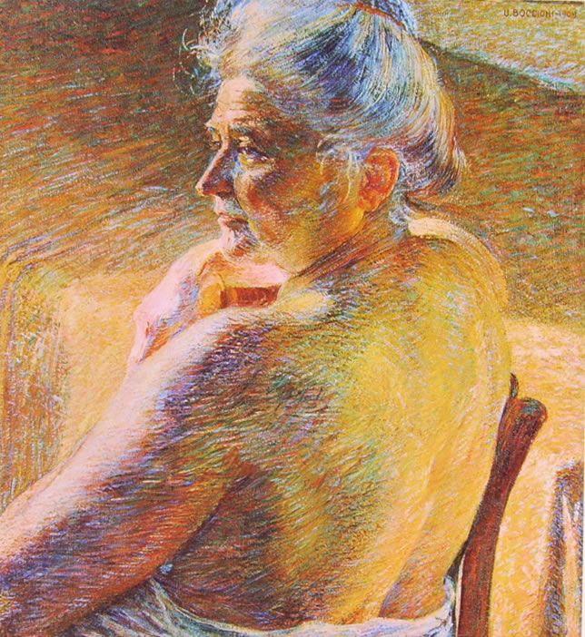 Umberto Boccioni, Controluce Collezione Lovisatti di Treviso