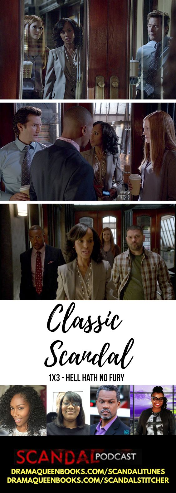 Classic Scandal - Season 1 Episode 3 Hell Hath No Fury ABC's Hit TV Show with Olivia Pope, Fitz, Cyrus, Mellie and OPA's Team. In this episode Amanda Tanner was being a brat but agreed to work with Olivia to mitigate the fallout of her quitting the white house and because of the affair.