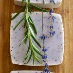 Lavender & Rosemary Scrubby Hand Soap Recipe