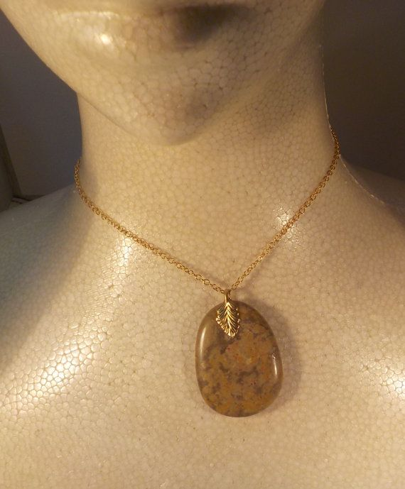 Beach Stone Pendant by AllAussieOpals on Etsy