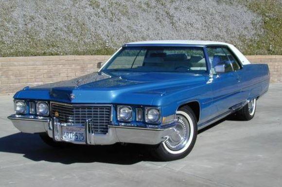 1972 Cadillac Coupe Deville Cadillac Pinterest