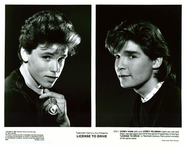 The two Corey's!!!! License to Drive
