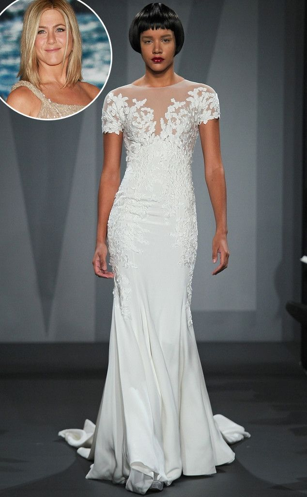 Did Say Yes to the Dress Accidentally Reveal Jennifer Aniston's Wedding Dress? Get the Scoop!  Jennifer Aniston, Mark Zunino