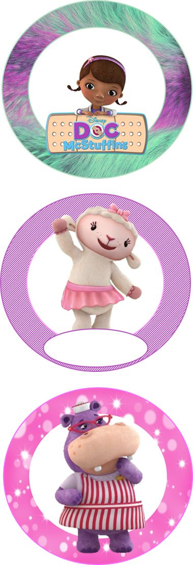 FREE Doc McStuffins Birthday Party Decorations/Party Circles