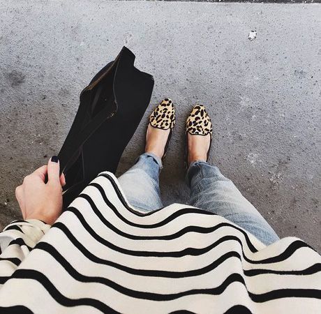 Cheetah print loafers, or any cheetah/leopard print accessories