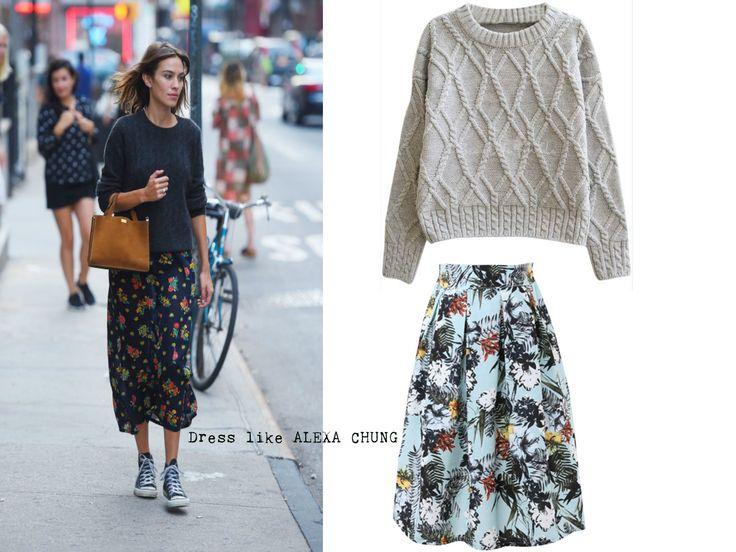 Dress like x http://nthgtowear.tumblr.com/ Alexa Chung