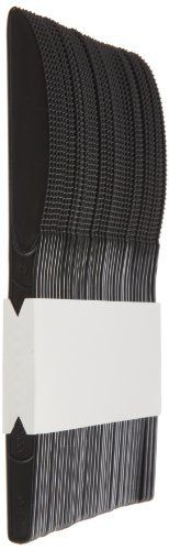 """SmartStock SSK51 7"""" Length, Black Color, Plastic Polystyrene Knife Refill (24 Packs of 40) by SmartStock. $38.68. These pre-counted and pre-assembled refills make it fast and easy to restock an empty dispenser. Just pick up a new cutlery refill, slide it into the dispenser, rip and pull away the binding tape, close the door and you're done. It's really that simple! There are refills for forks, knives and multi-purpose spoons (basic teaspoon shape with a deeper..."""