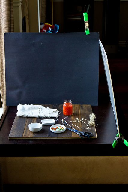 DIY food photography set - Photo Fridays: How I Set Up, Style, and Shoot by foodiebride by FOODIEBRIDE on JUNE 29, 2012