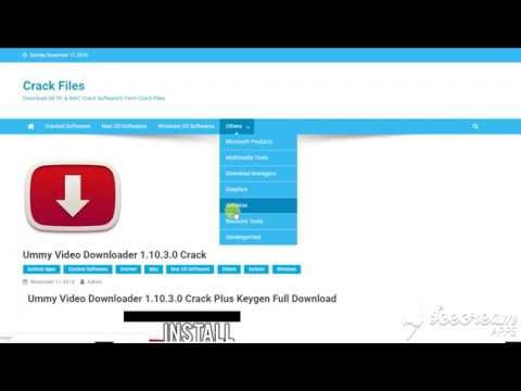 ummy video downloader full version for free without crack