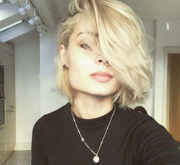 Hair cut Nina Nesbitt.