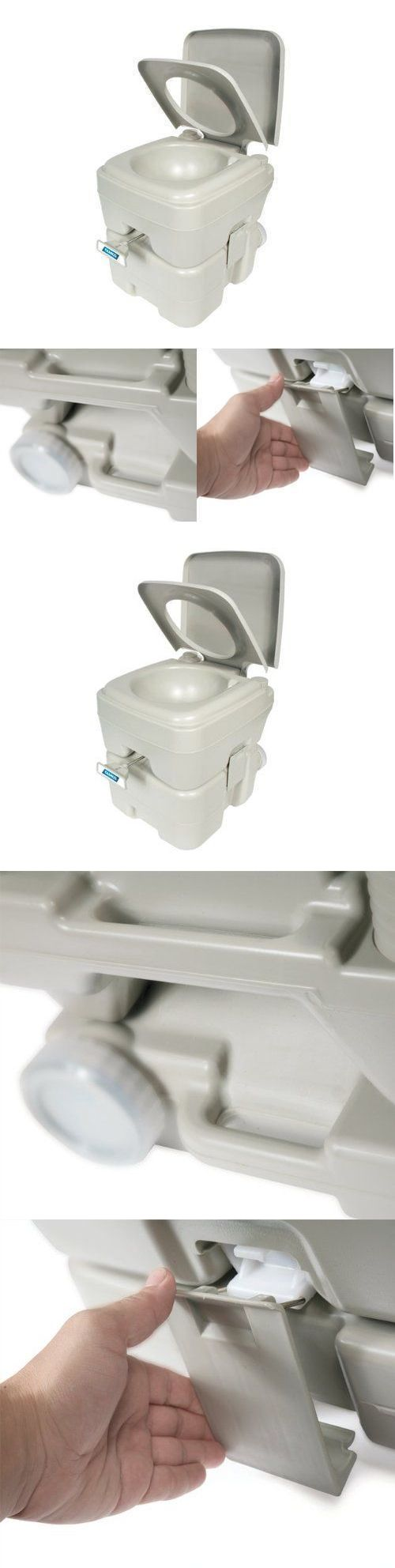 Portable Toilets and Accessories 181397: New! Camco Heavy Duty Portable Toilet On The Go Poop Seat Outdoor Travel Camping -> BUY IT NOW ONLY: $69.51 on eBay!