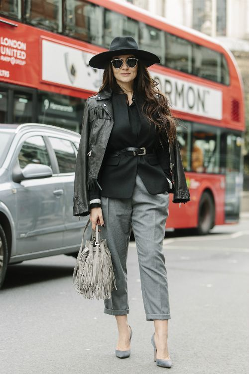 Saptamana Modei la Londra - Streetstyle (6) - Elle.ro