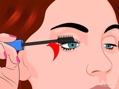 Imagen titulada Curl Your Eyelashes Without an Eyelash Curler Step 5