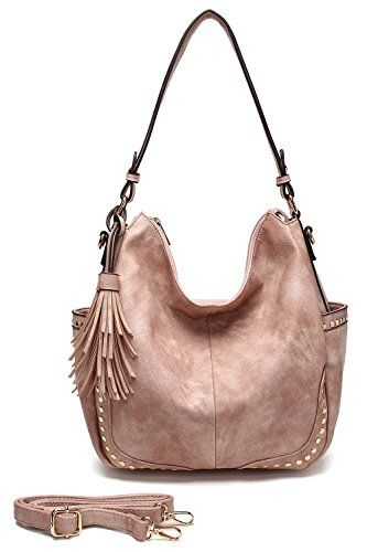 c0ebaee673 Womens Genuine Leather Handbag Urban Style Hobo Satchel Tote Bag ...