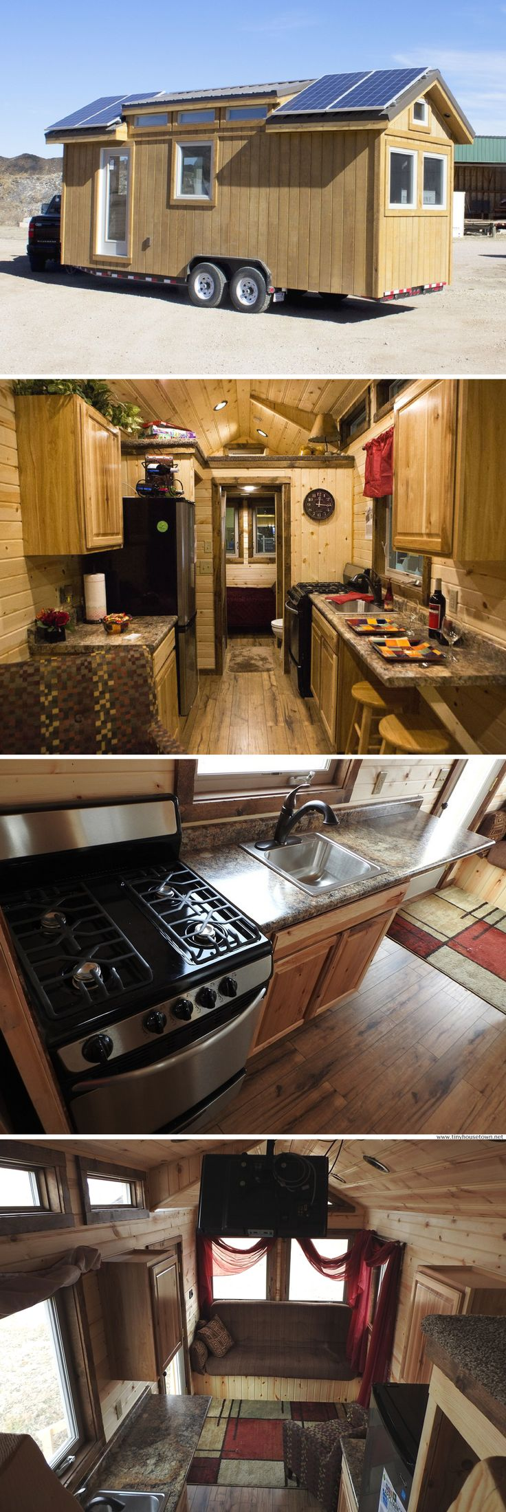 3208 best cabins and tiny houses images on pinterest small a 192 sq ft solar powered tiny house for sale in piedmont sd