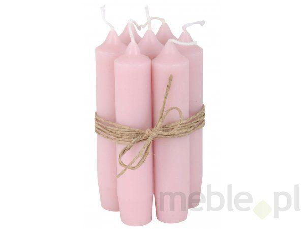 Świeczka Krótka różowa Ib Laursen 4171-07