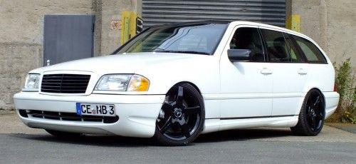 Die weiße Pracht (Mercedes S202)