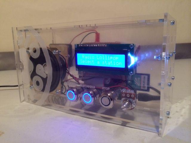 Radio Lollipop – children's hospital radio   Raspberry Pi