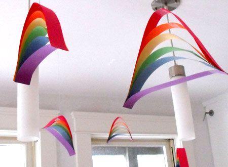 rainbow mobiles