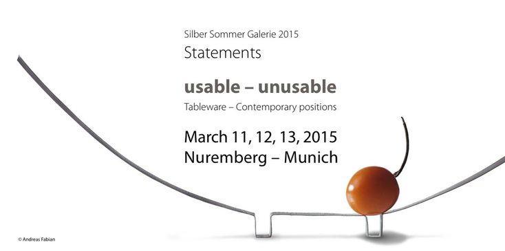 "Symposium: T ""usable - unusable""."