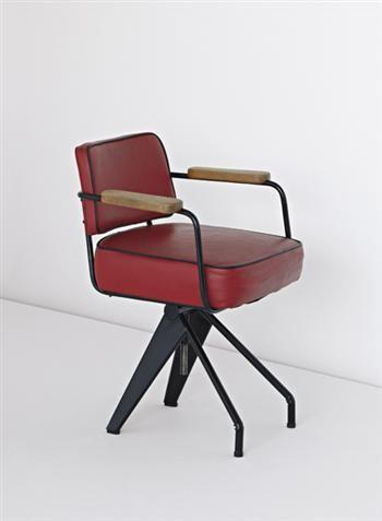 jean prouvé office chair, 1950
