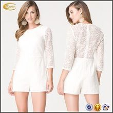 OEM wholesale spring Party lace Embroidered 3/4 sleeves Sexy Shorts Romper woman bodycon Jumpsuits, jumpsuits for women Best Buy follow this link http://shopingayo.space