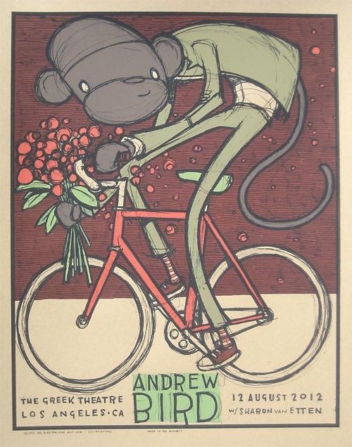 Jay Ryan ~ Andrew Bird bicycle