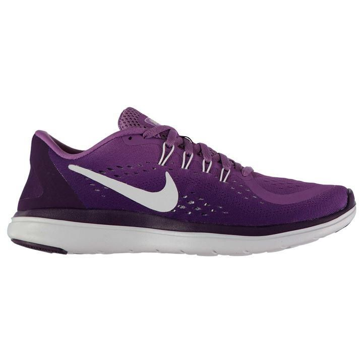 Nike Flex 2017 Running Trainers Ladies | Flywire cables | Rubber inserts