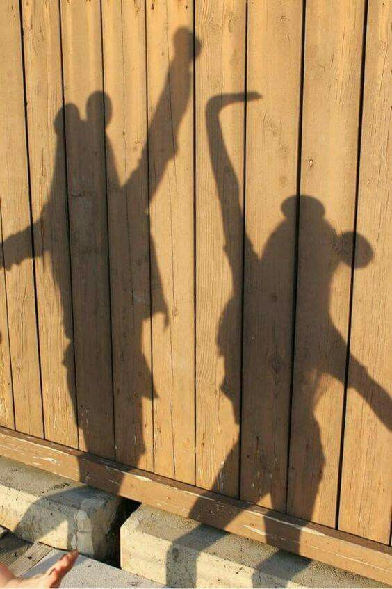 Shadow pics are the best... especially Disney style!
