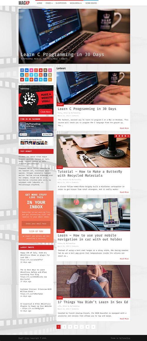 MagXP Theme | MyThemeShop #wordpress #theme #template #blogging #website #online #business