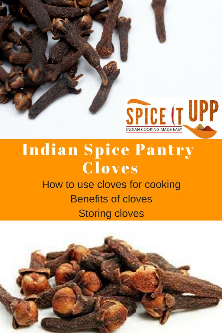 Cloves are one of the best and robust spices in the world. Used extensively in Indian, Asian cuisine learn why you should stocking on these miracle spice #spicebenefits #indianspices #spiceitupp