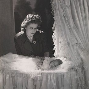 December 1948: Princess Elizabeth with Prince Charles, born only weeks earlier on November 14. [photo: Cecil Beaton]