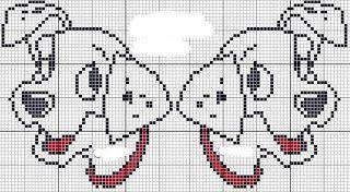 héros - cartoon - bd - dalmatien - point de croix - cross stitch - Blog : http://broderiemimie44.canalblog.com/