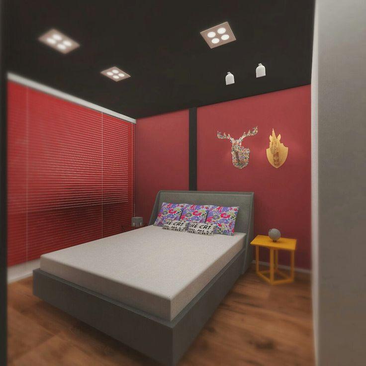 Bedroom red