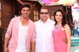 The theatrical trailer of Akshay Kumar upcoming movie has been released starring Tamannaah Bhatia. The movie is directed by Sajid-Farhad and produced by Ramesh S.Taurani. The music is expected soon to be out which is composed by Sachin Jigar. The chemistry between the dog and Akshay got into capture very well where the dog is playing a lead role in the movie.