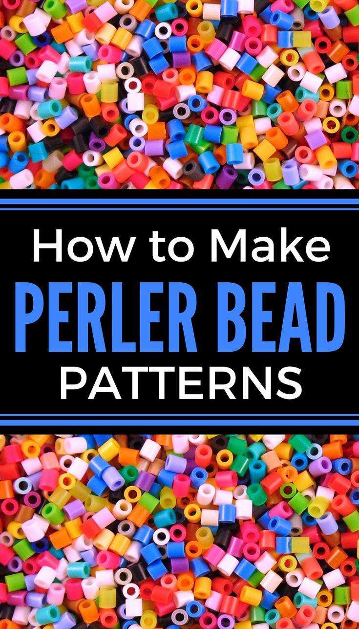 how to make perler bead patterns