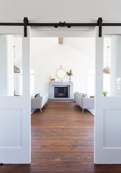 White Barn Doors | Coco & Jack